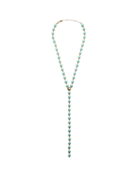 Ippolita 18K Senso™ Turquoise Y-Drop Necklace