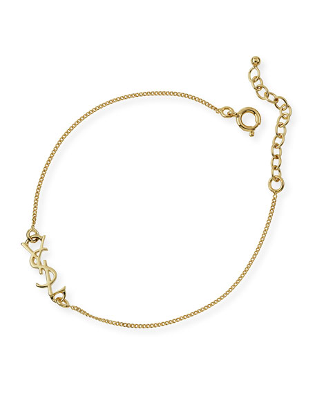 Monogram Golden Chain Bracelet