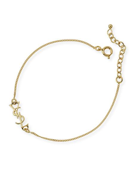 Monogram Golden Chain Bracelet