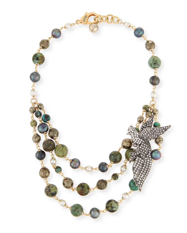 Lulu Frost Marjorelle Beaded Necklace T7yAlN9X8P