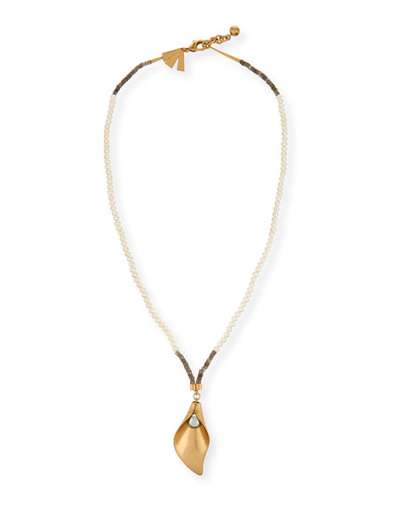 Jardin Long Pendant Necklace