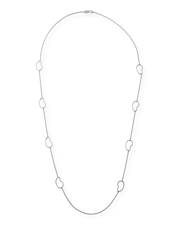 Ippolita Silver Teardrop Pendant Necklace in Periwinkle 4xd94pg
