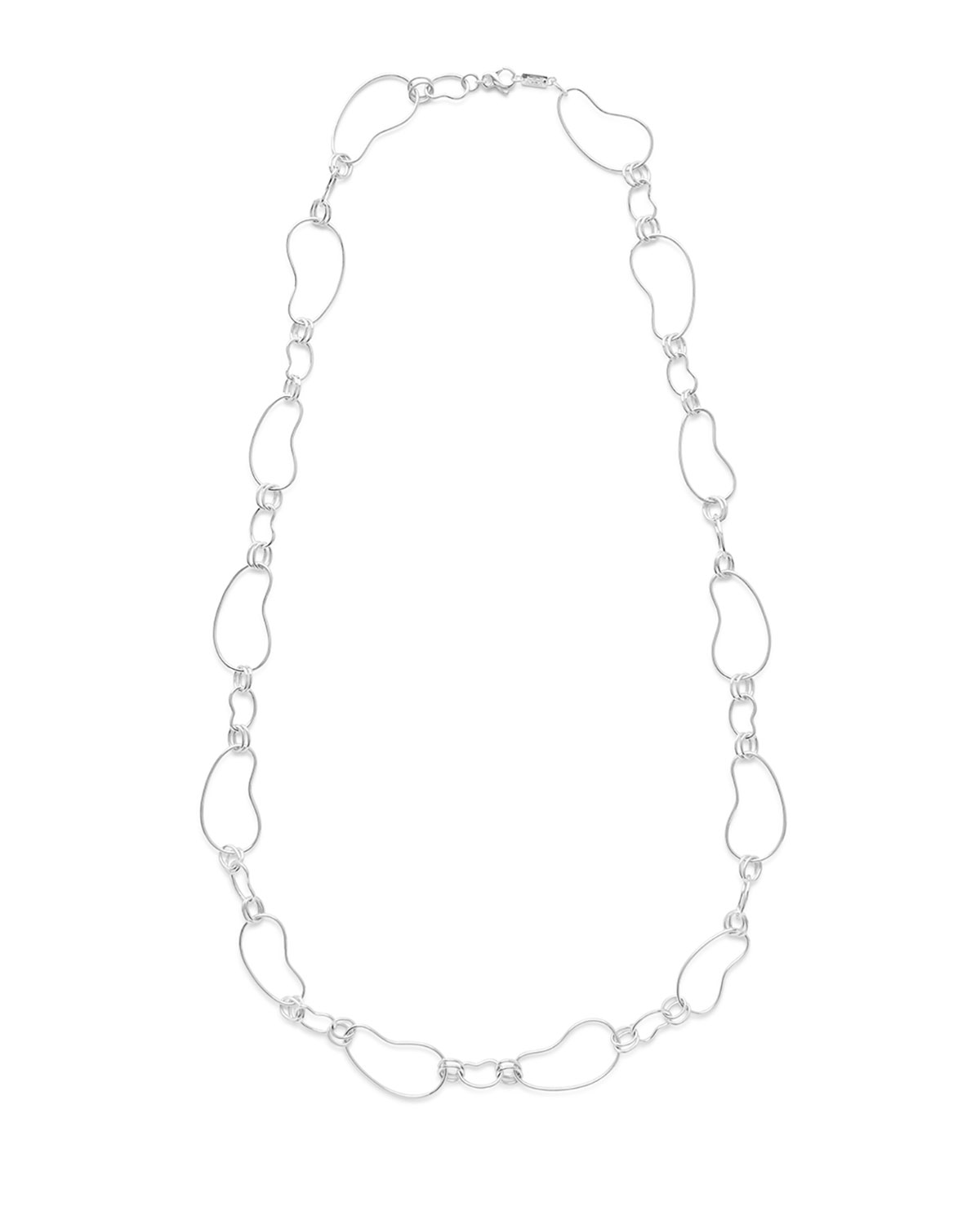Ippolita 925 Classico Alternating Kidney Link Necklace