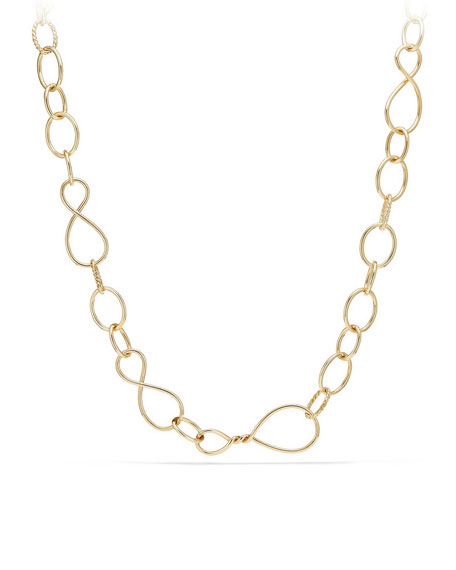 Continuance Large 18K Chain Necklace, 32""