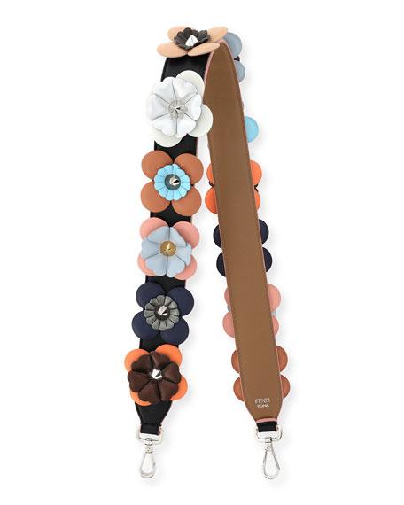 Fendi Strap You Flowerland Shoulder Strap for Handbag,
