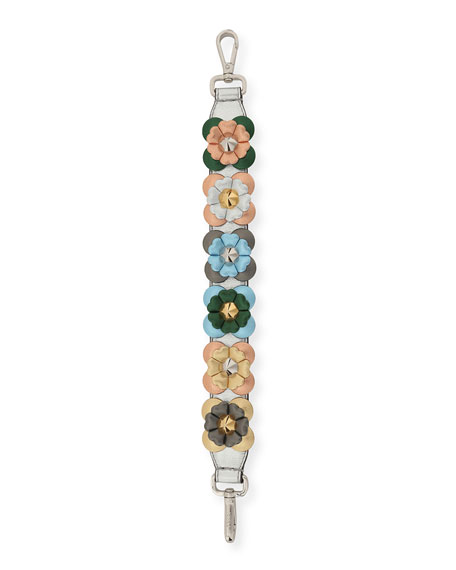 Fendi Strap You Mini Flowerland Shoulder Strap for