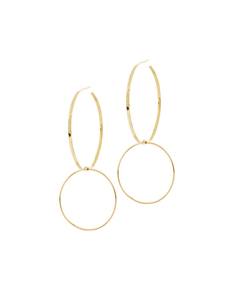 Bond Double-Drop Hoop Earrings
