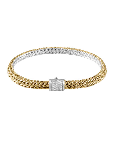John Hardy Classic Gold & Silver Extra Small