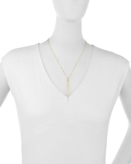 14K Sheer Pendant Necklace