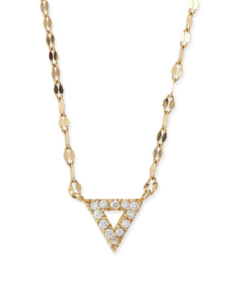 LANA Diamond Spike Pendant Necklace