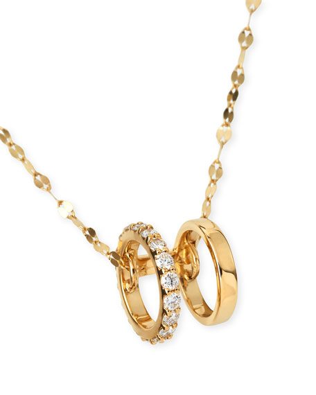 Small Dare Flawless Necklace in 14K Gold