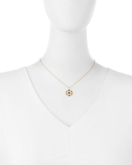 Large Evil Eye Medallion Necklace