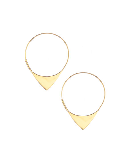 14k Elite Small Magic Hoop Earrings
