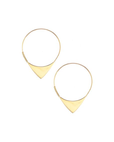 14k Elite Small Magic Hoop Earrings