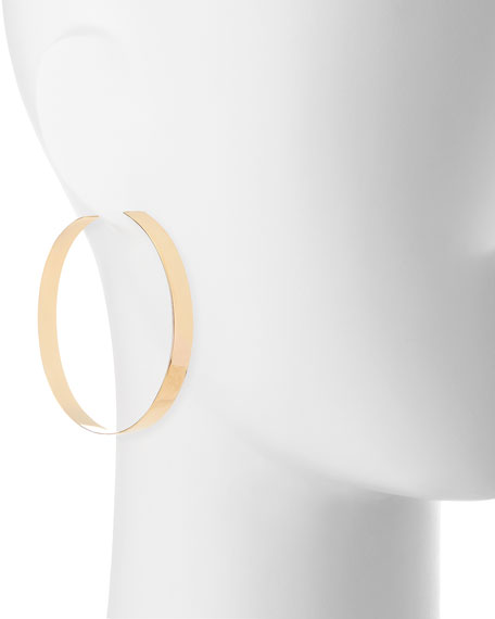 Large Vanity 60mm Hoop Earrings