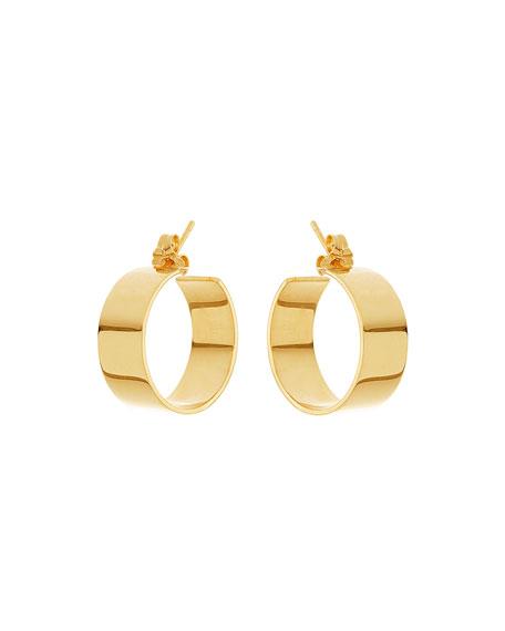 Small Vanity 14K Hoop Earrings