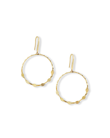 LANA Nude Remix Bangle Earrings