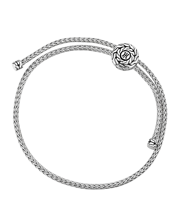 Clic Chain Silver Knot Bracelet
