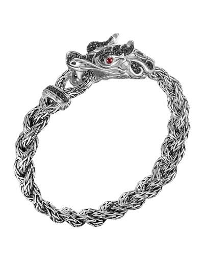 Batu Naga Dragon Black Sapphire Bracelet