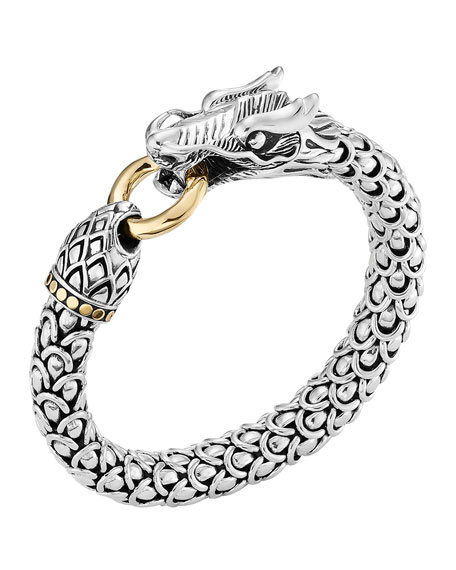 John Hardy Large Dragon Bracelet