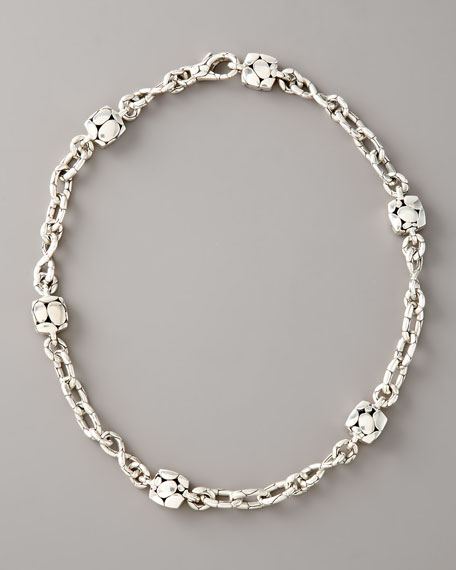 John Hardy Kali Square-Station Infinity Necklace