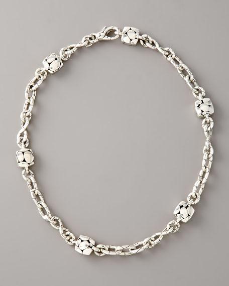 John Hardy Kali Square-Station Infinity Necklace