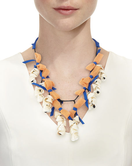 Shell Collector Statement Necklace