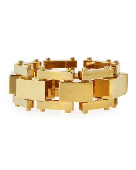 Golden Bedrock Bracelet