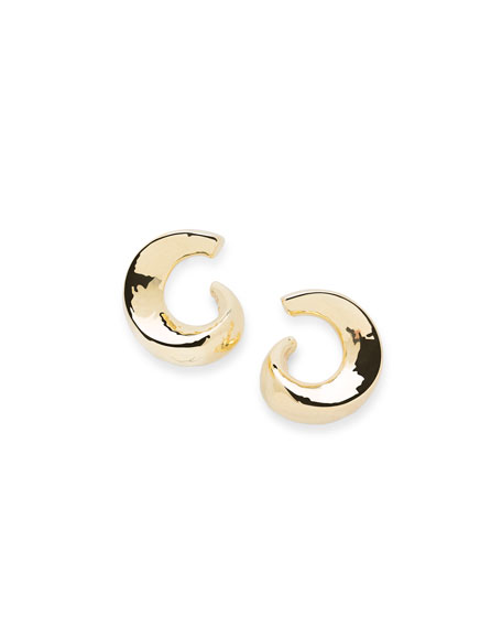 Ippolita 18K Classico Snail Hoop Earrings