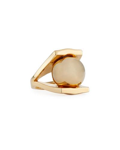 Golden Pinball Ring