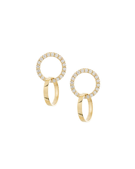 Flawless Vol. 6 Diamond Double-Hoop Earrings