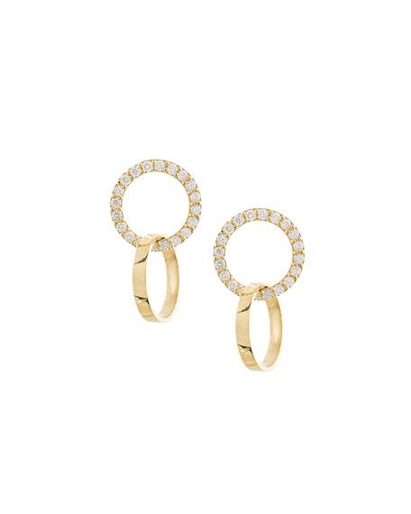 Lana Flawless Vol. 6 Diamond Double-Hoop Earrings