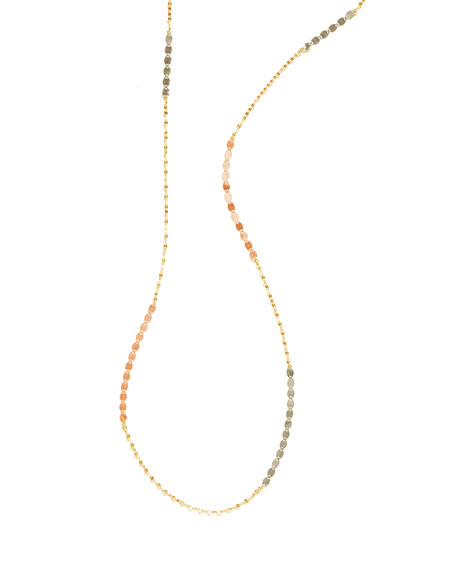 Tri Nude Remix Layering Necklace