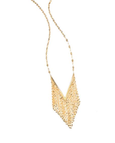 Lana 14K Mega Fringe Pendant Necklace