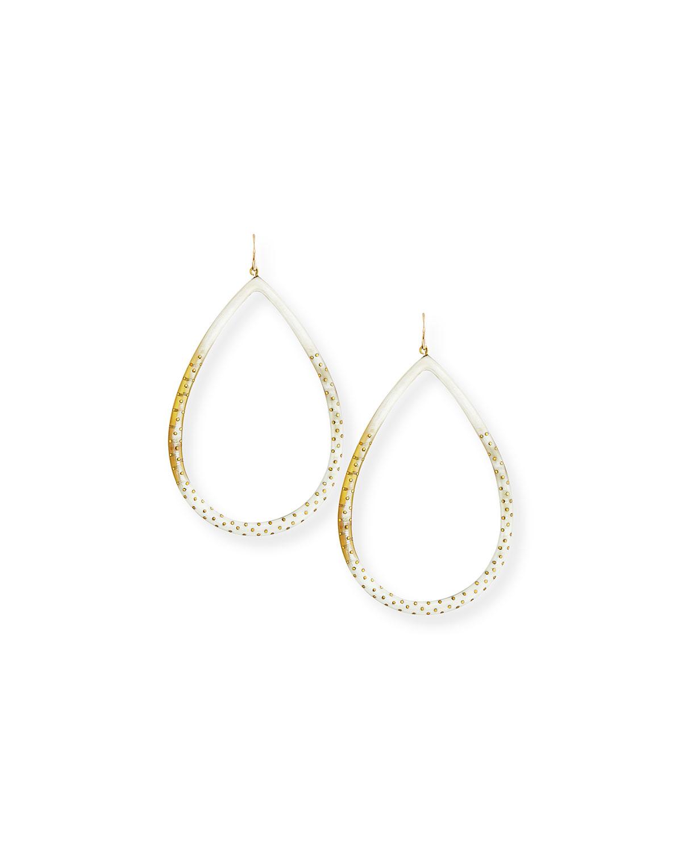 Kambi Horn and Bronze Earrings Ashley Pittman stX4sh