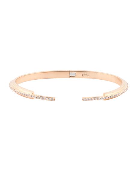 Small Flawless Vol. 6 Diamond Stack Bracelet in 14K Rose Gold