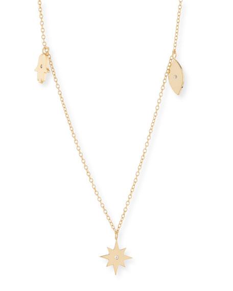 Jennifer Zeuner Tavon Charm Necklace