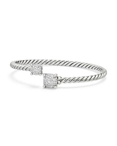 Châtelaine Pavé Diamond Bypass Bracelet
