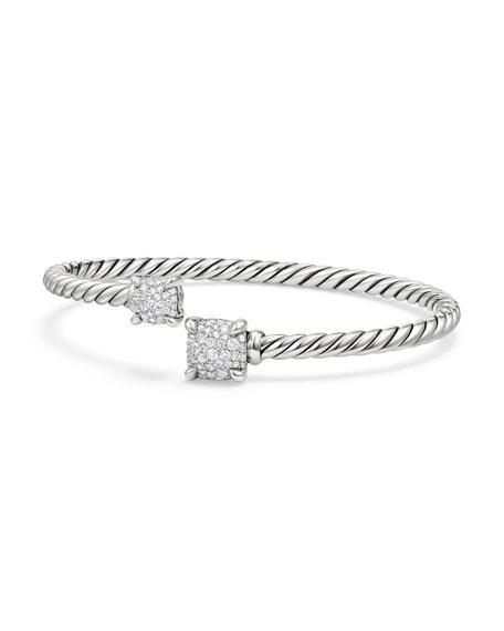 David Yurman Châtelaine Pavé Diamond Bypass Bracelet
