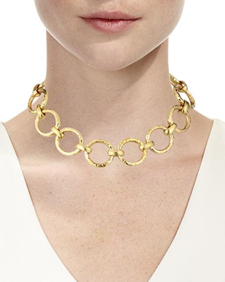 Daima Bronze Link Necklace