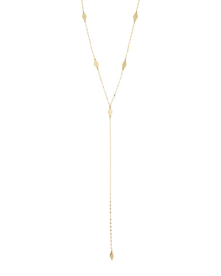 LANA Long Ombre Kite Lariat Necklace