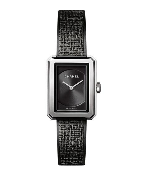 BOY&middotFRIEND Black Tweed Watch