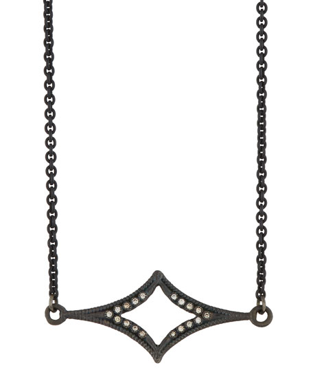 Armenta Old World Crivelli Station Necklace w/ Champagne