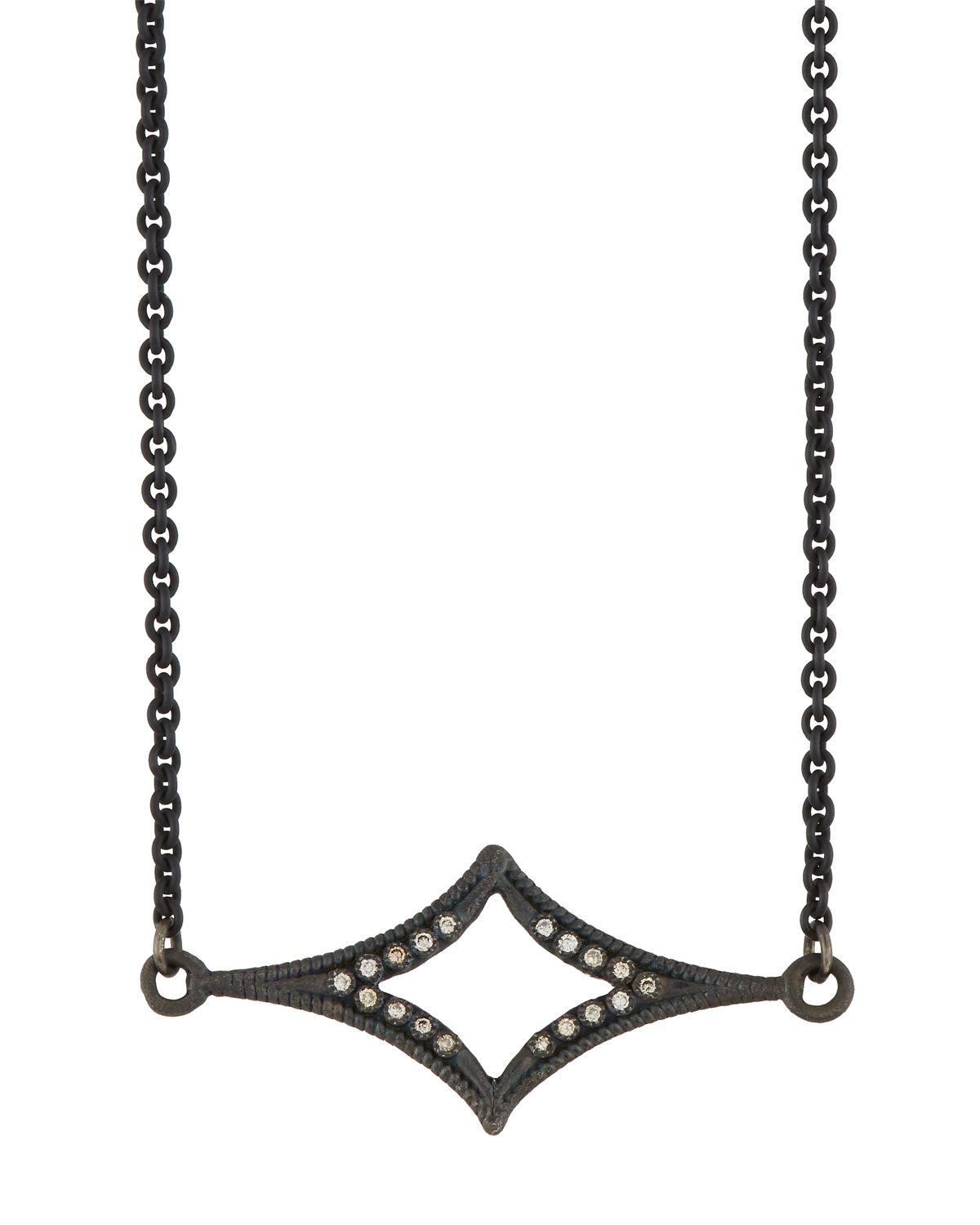 Armenta New World Crivelli-Station Necklace with Champagne Diamonds cySfs8dy