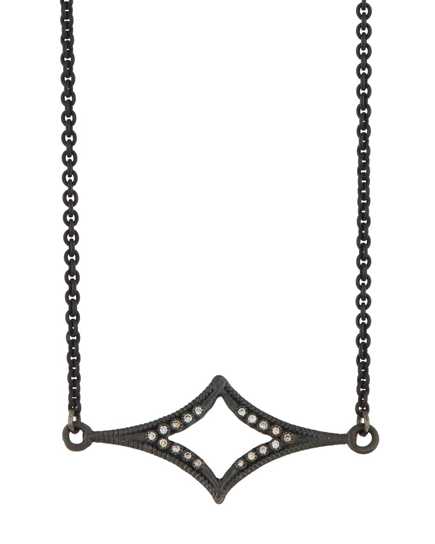 Armenta New World Crivelli-Station Necklace with Champagne Diamonds 8TvZ2gLKwO