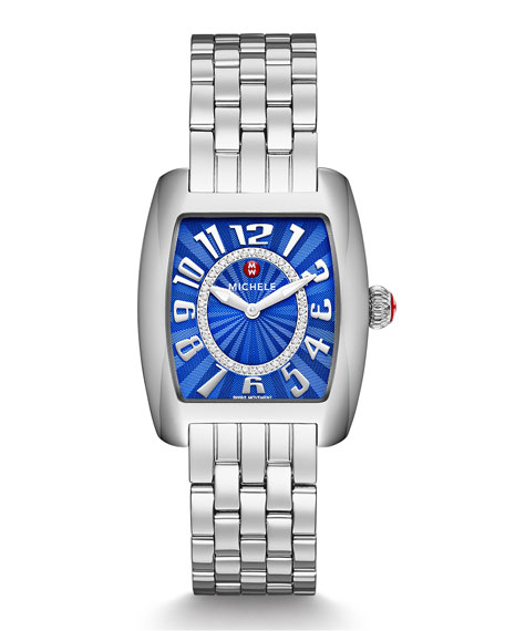 Urban Mini Cobalt Diamond Watch Head