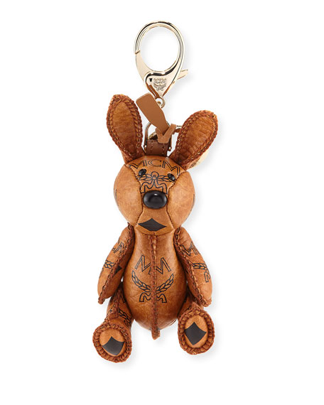 Visetos Rabbit Handbag Charm, Cognac