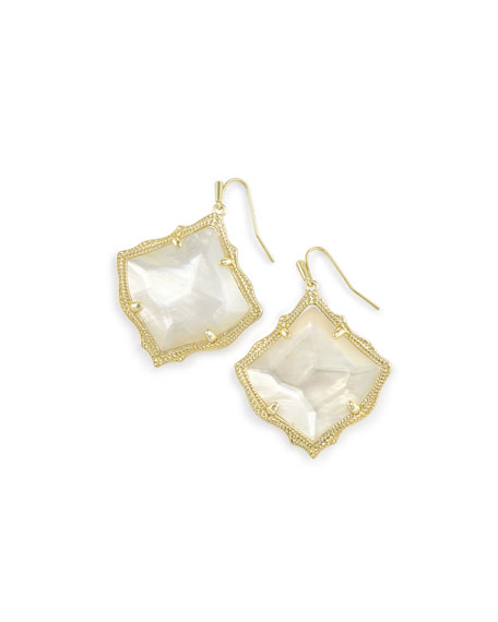 Kendra Scott Kirsten Earrings in Yellow Gold Plate