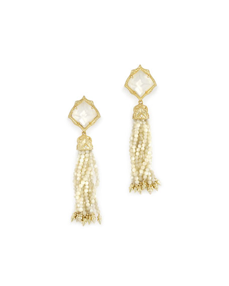 Kendra Scott Misha Tassel Earrings in 14k Gold