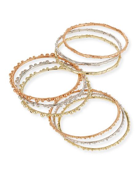 Scooter Stacking Bracelets, Set of 9